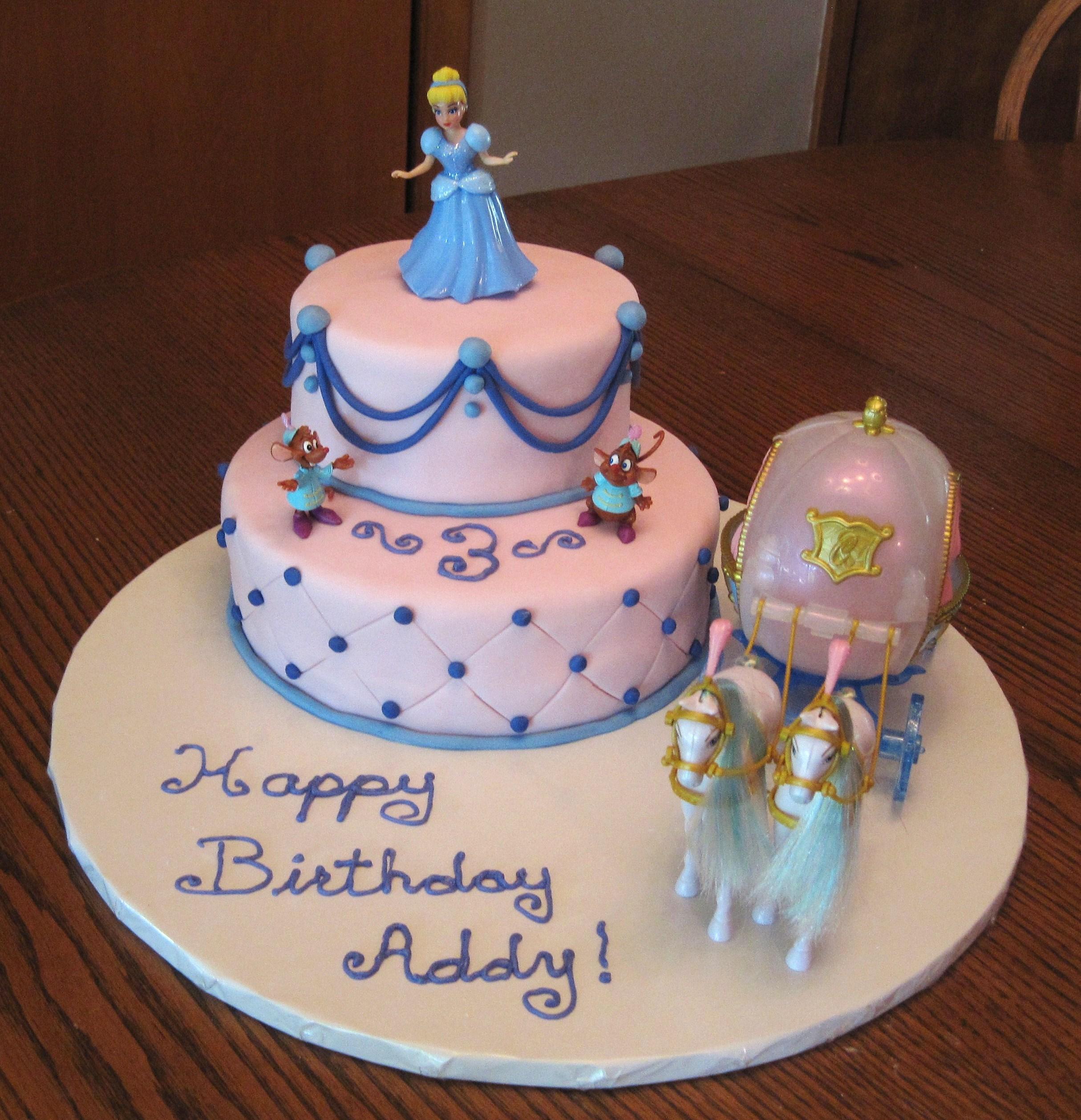 Pleasant Cinderella Cakes Decoration Ideas Little Birthday Cakes Funny Birthday Cards Online Drosicarndamsfinfo