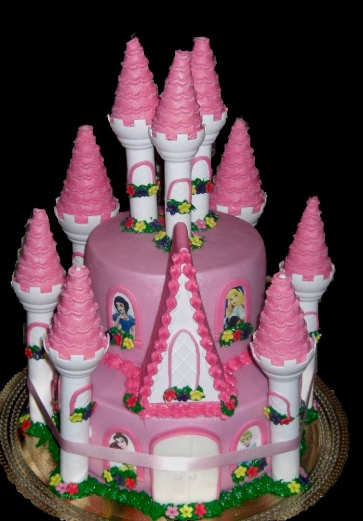 Cinderella Castle Cakes
