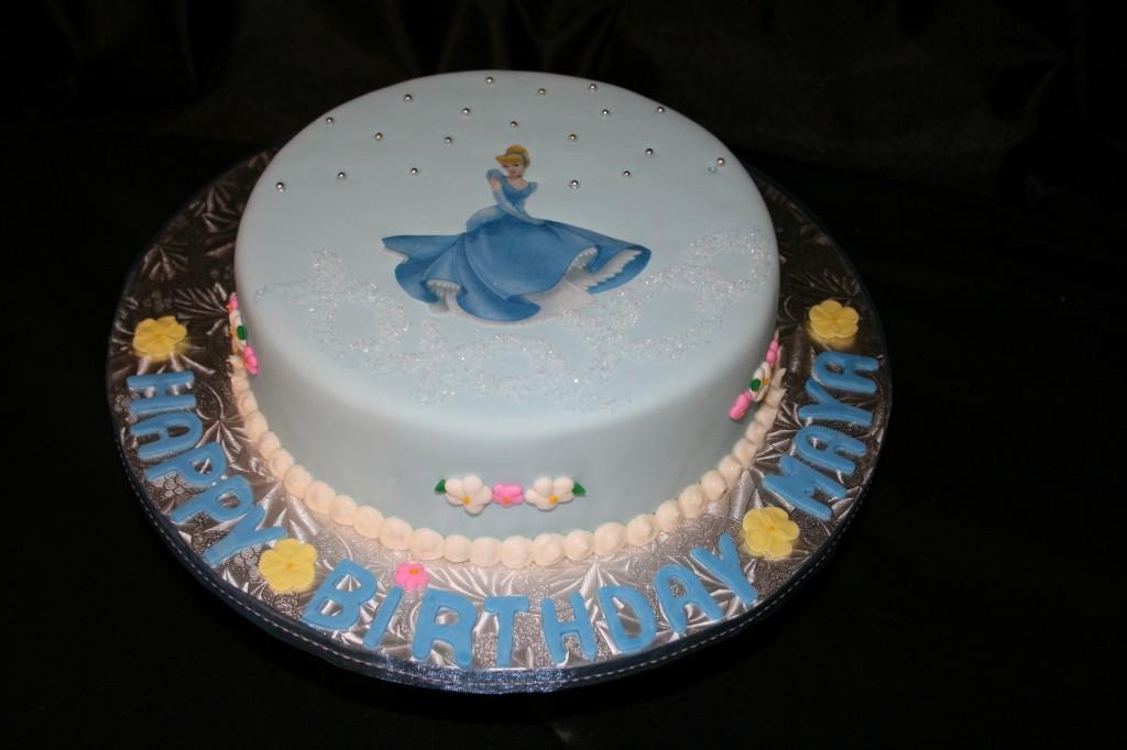 Cinderella Doll Cake