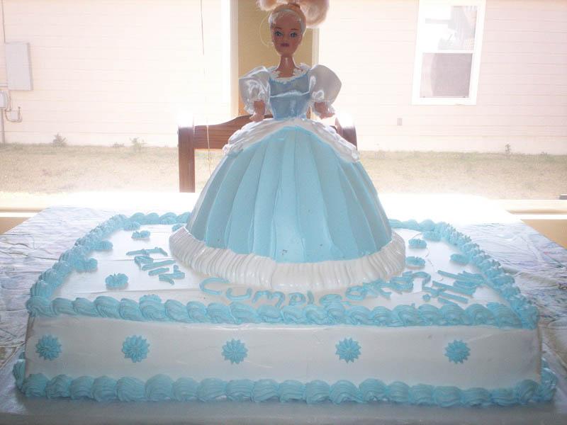 Cinderella Princess Cakes