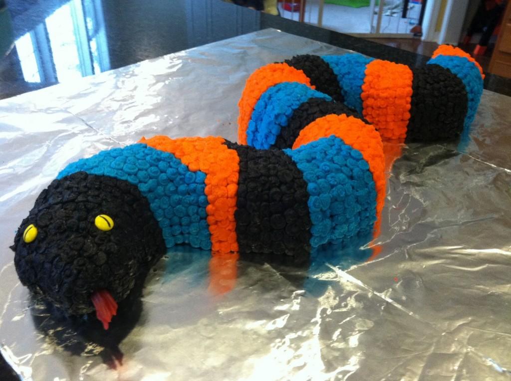 Coiled Snake Cake