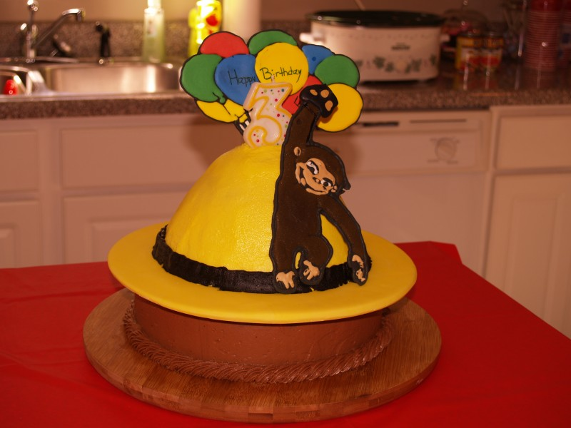 Curious George Birthday Cake Pictures