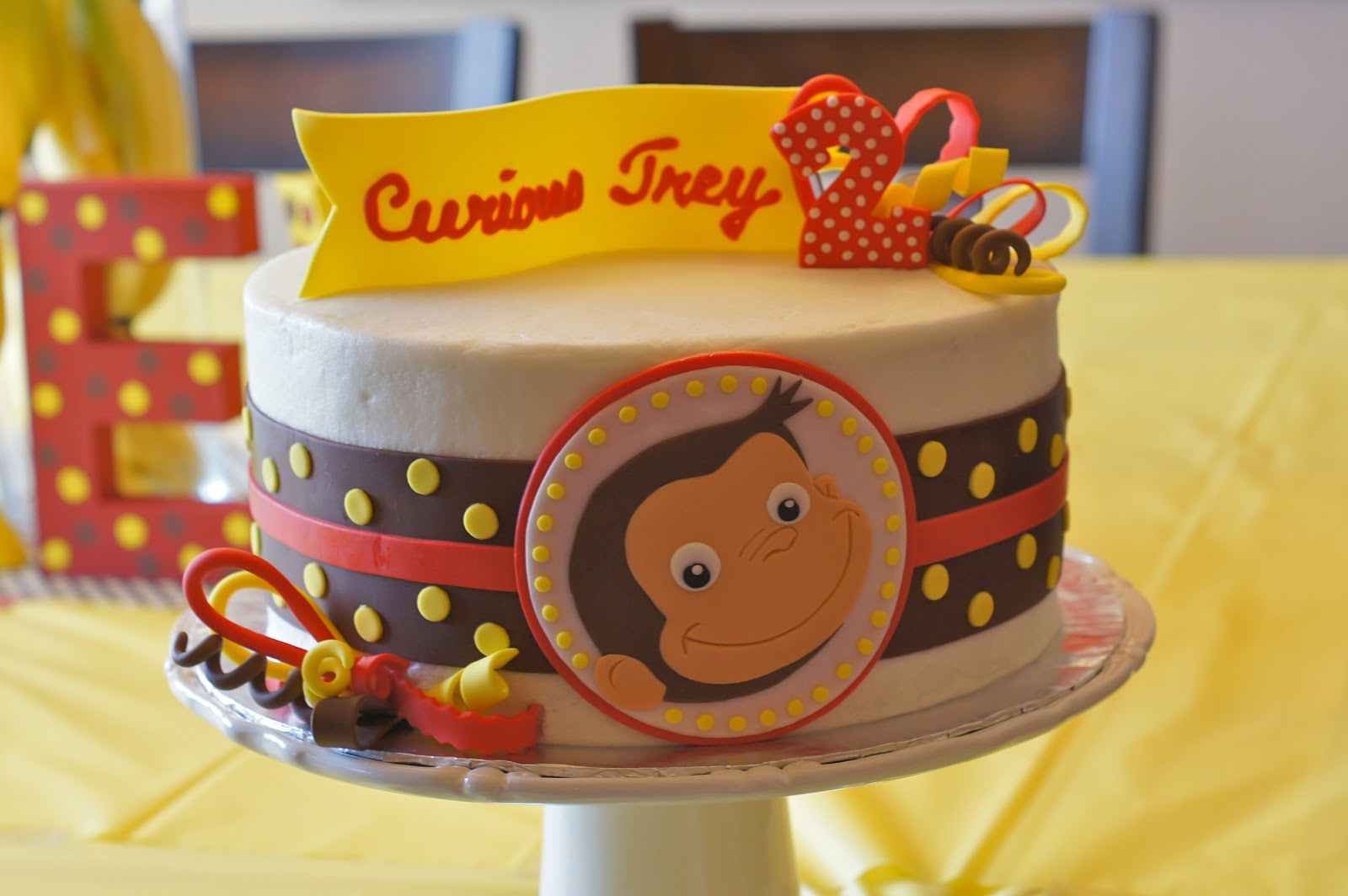 Outstanding Curious George Cakes Decoration Ideas Little Birthday Cakes Funny Birthday Cards Online Sheoxdamsfinfo