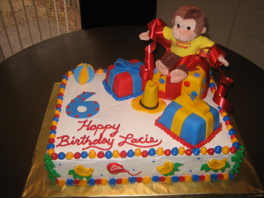 Curious George Birthday Cakes