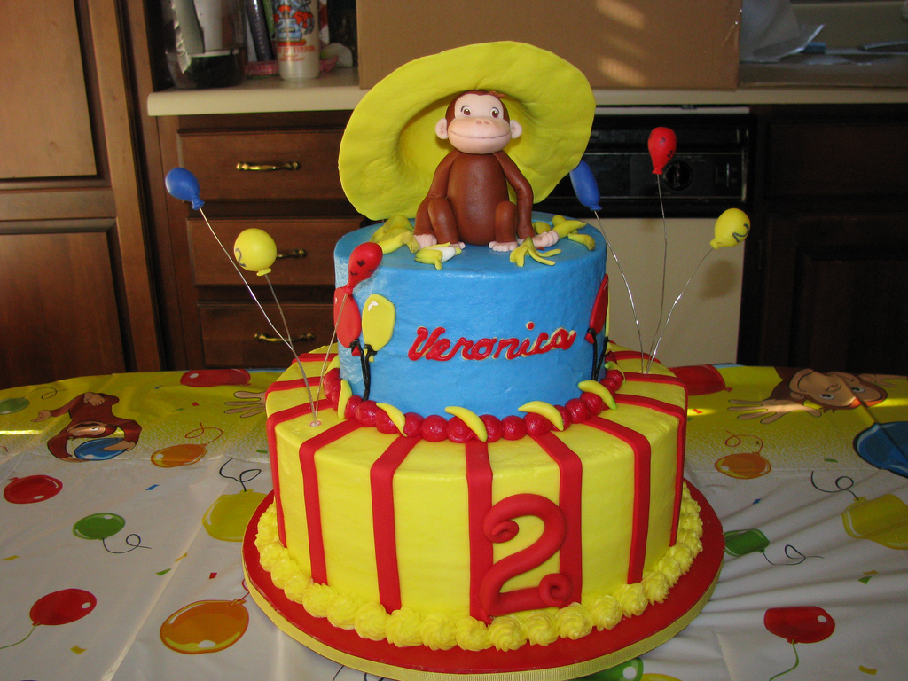 Enjoyable Curious George Cakes Decoration Ideas Little Birthday Cakes Funny Birthday Cards Online Sheoxdamsfinfo