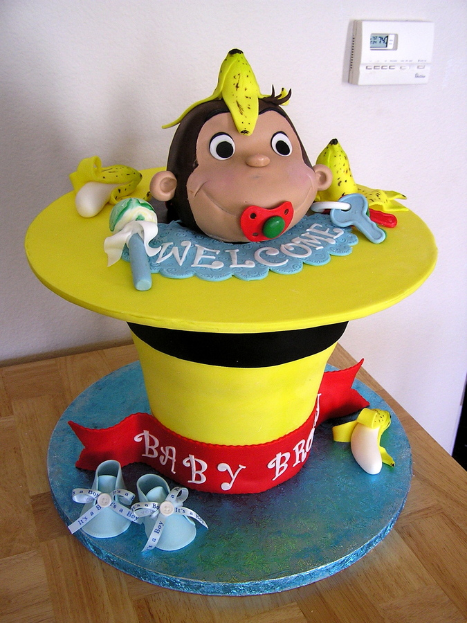 Curious George Cake Decorations
