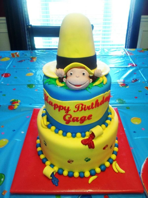 Curious George Cake Ideas