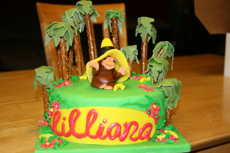 Curious George Cakes Images