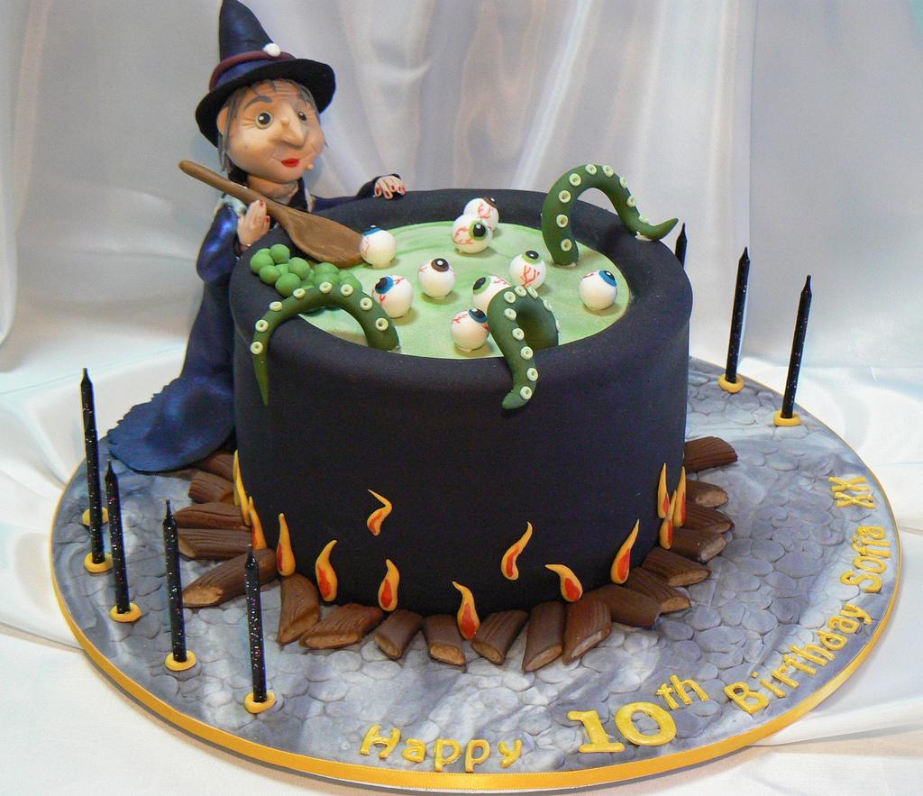 Cute Halloween Cakes