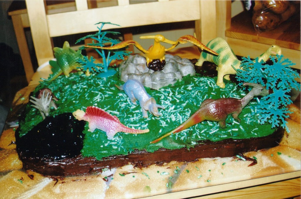 Dinosaur Cakes Pictures