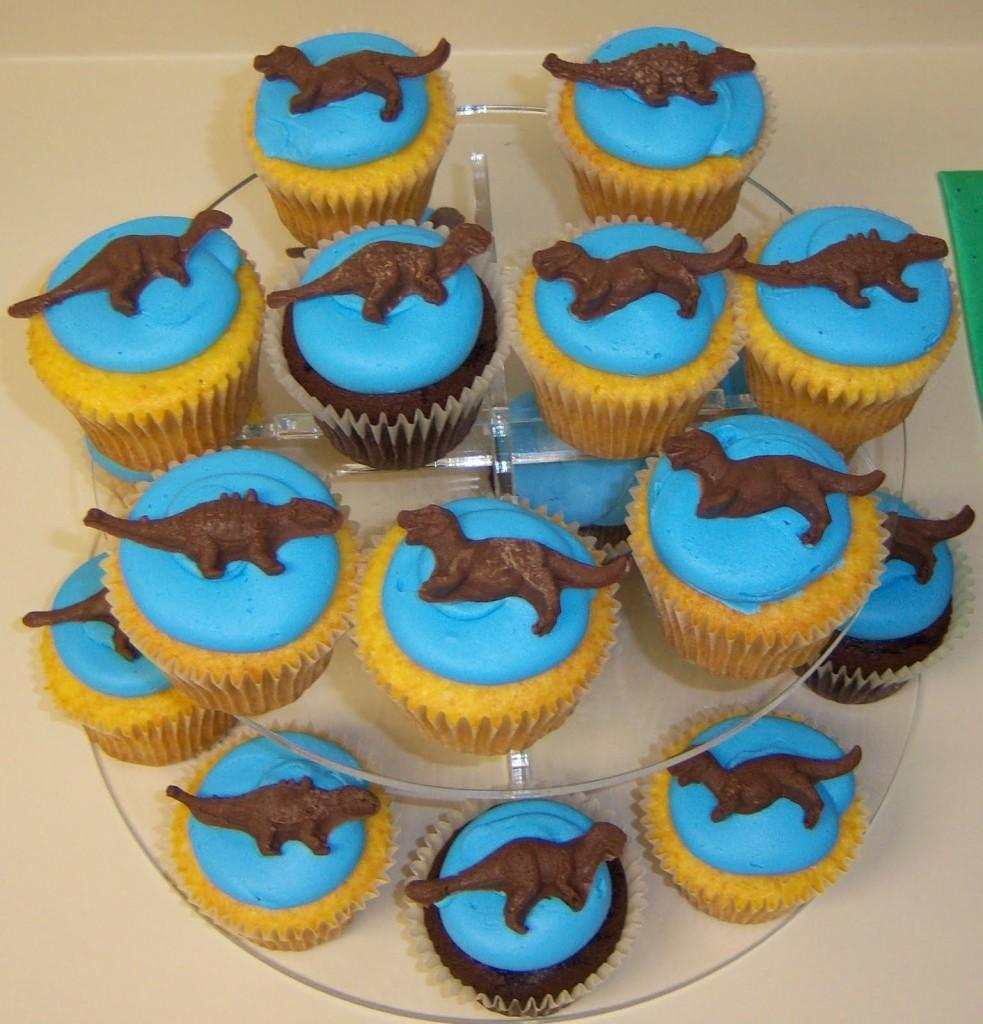 Dinosaur Cupcake Cakes