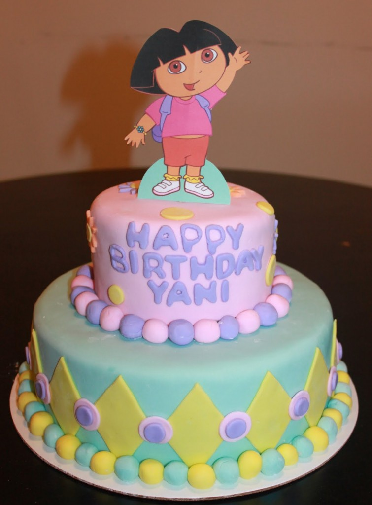 Dora Birthday Cake Toppers