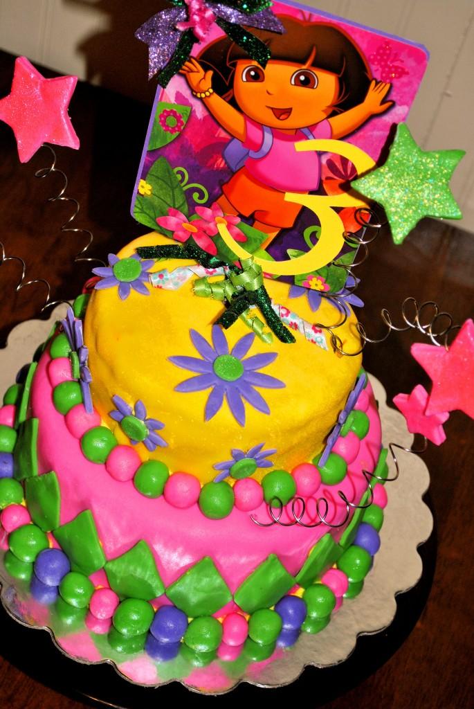 Dora Birthday Cakes Pictures