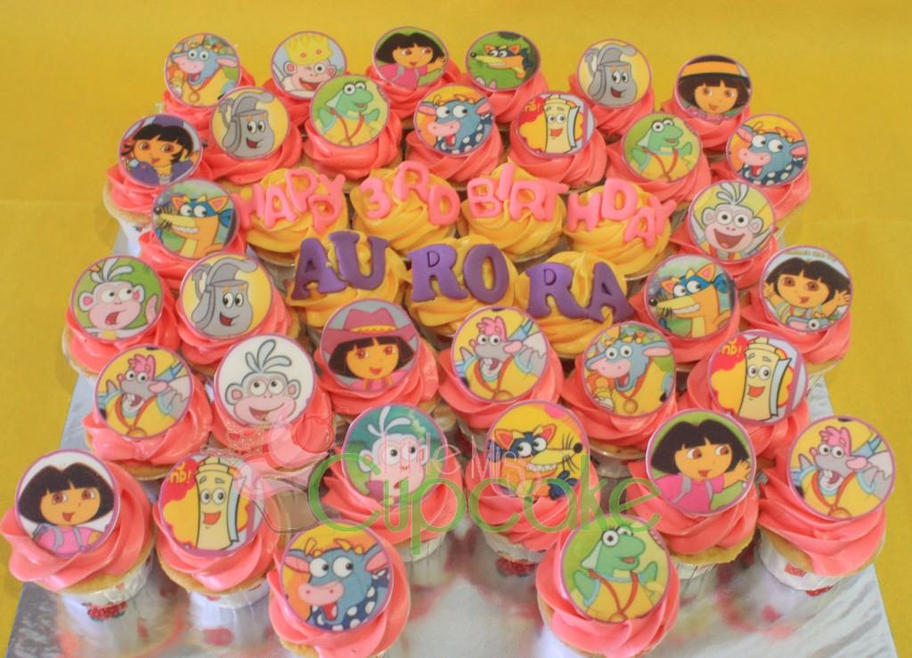 Dora Cupcake Cakes