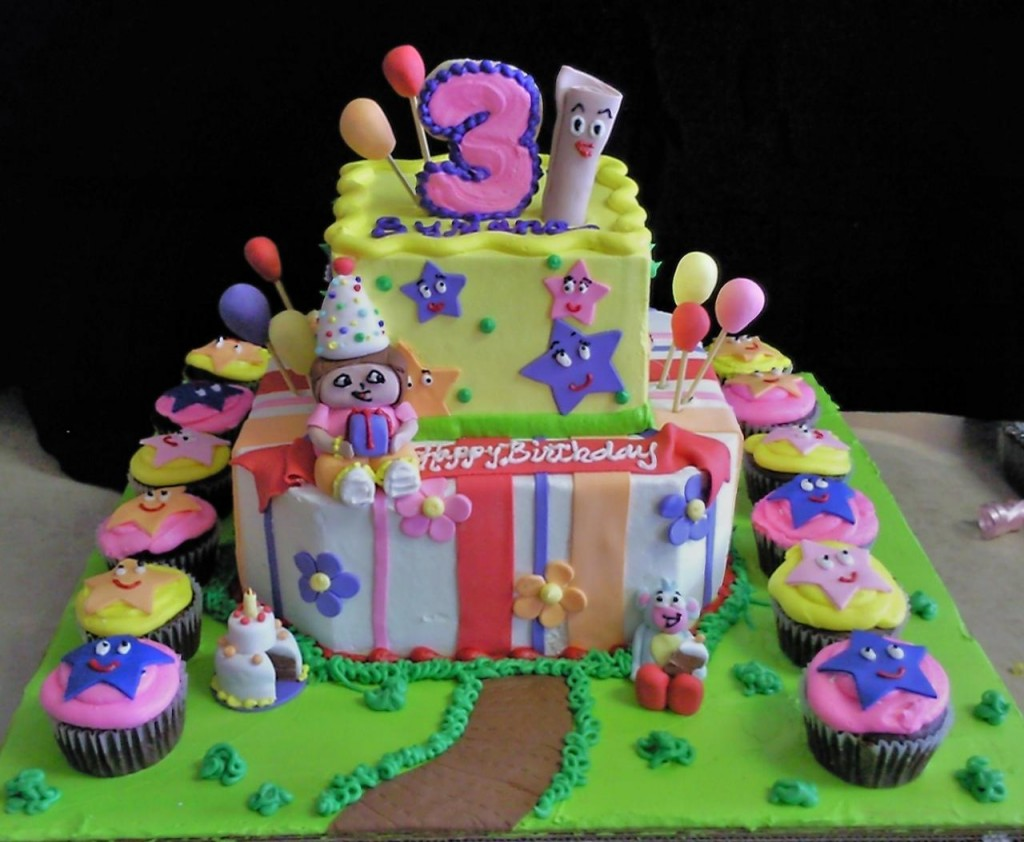 Dora The Explorer Birthday Cakes