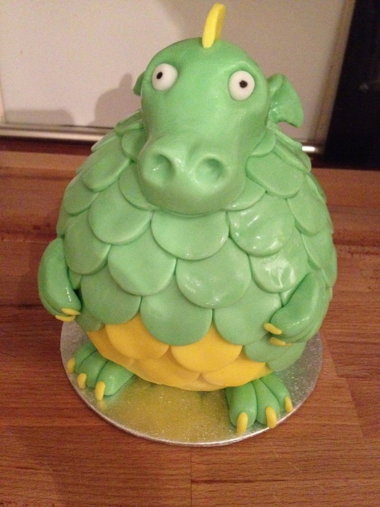 Dragon Cake Image