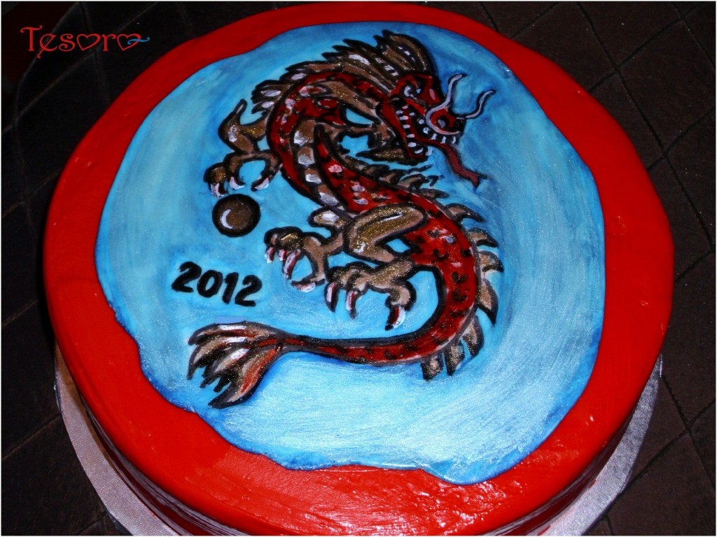 Dragon Cake Photos