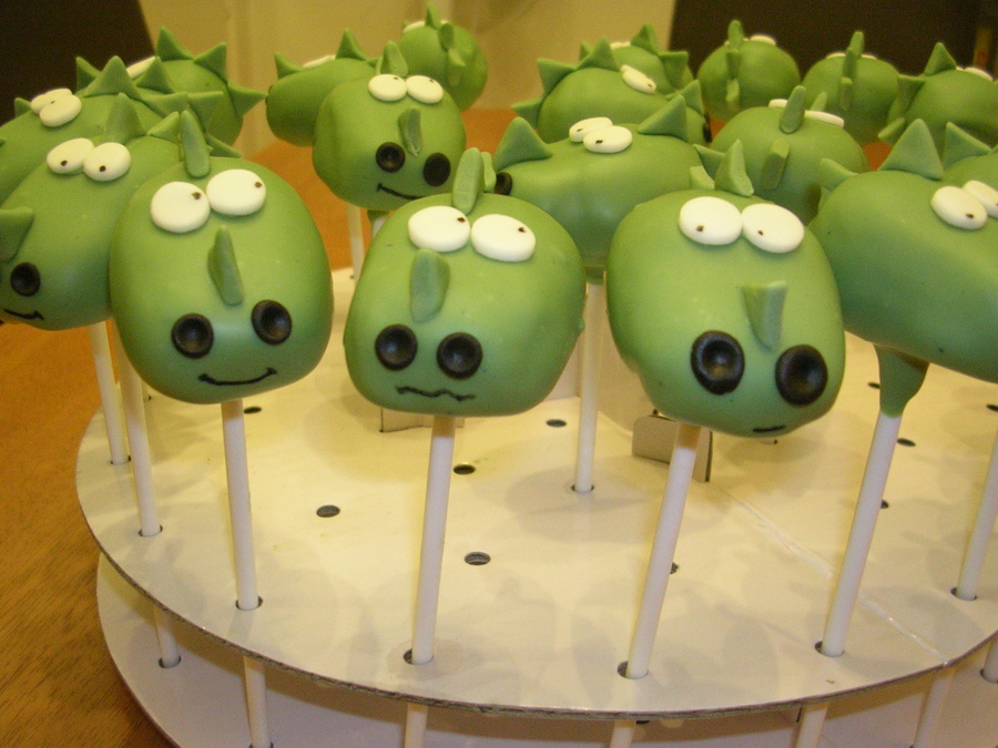 Dragon Cake Pops