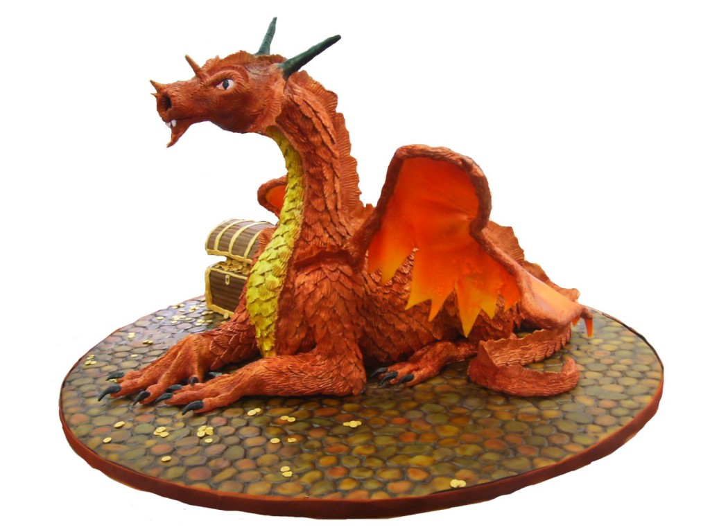 Dragon Cake Topper