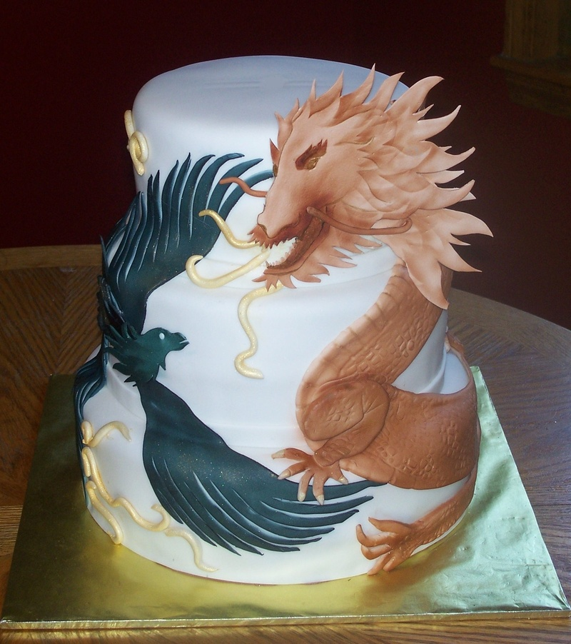 Dragon Cakes Photos