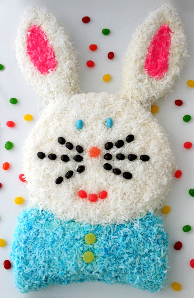 Easter Bunny Cake Design