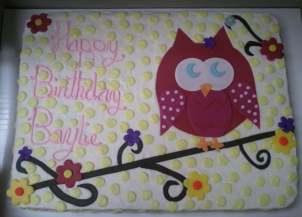 Easy Owl Cakes