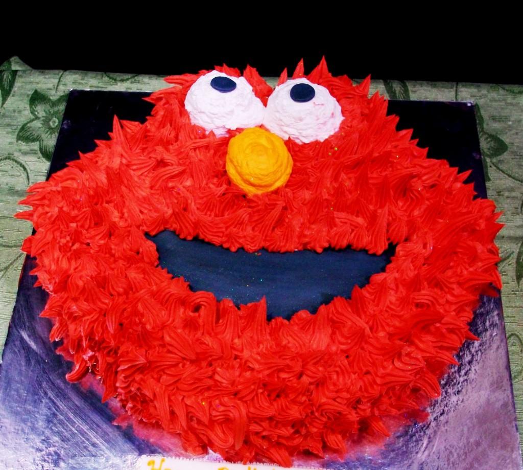 Elmo Birthday Cake Ideas