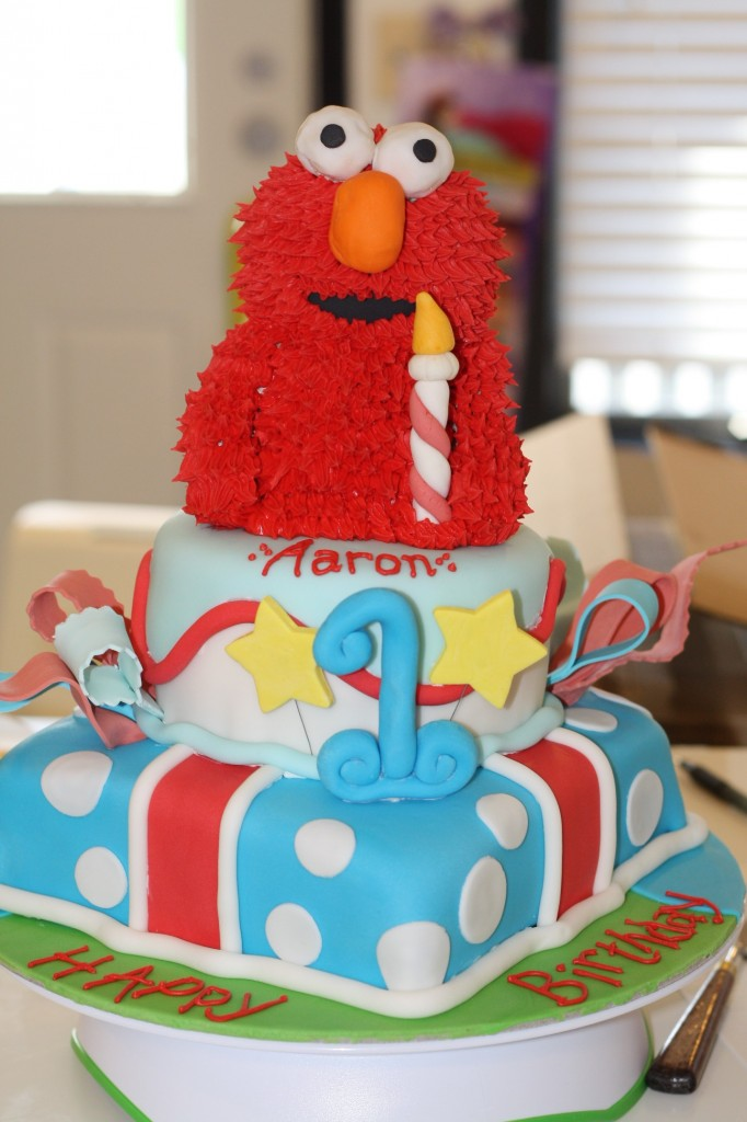 Elmo Birthday Cake Images