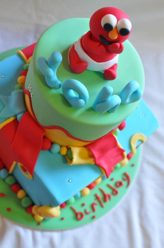 Elmo Birthday Cake Photos