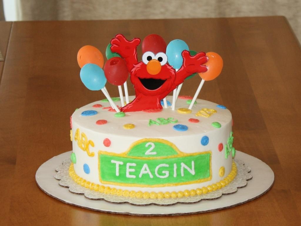 Super Elmo Cakes Decoration Ideas Little Birthday Cakes Personalised Birthday Cards Petedlily Jamesorg