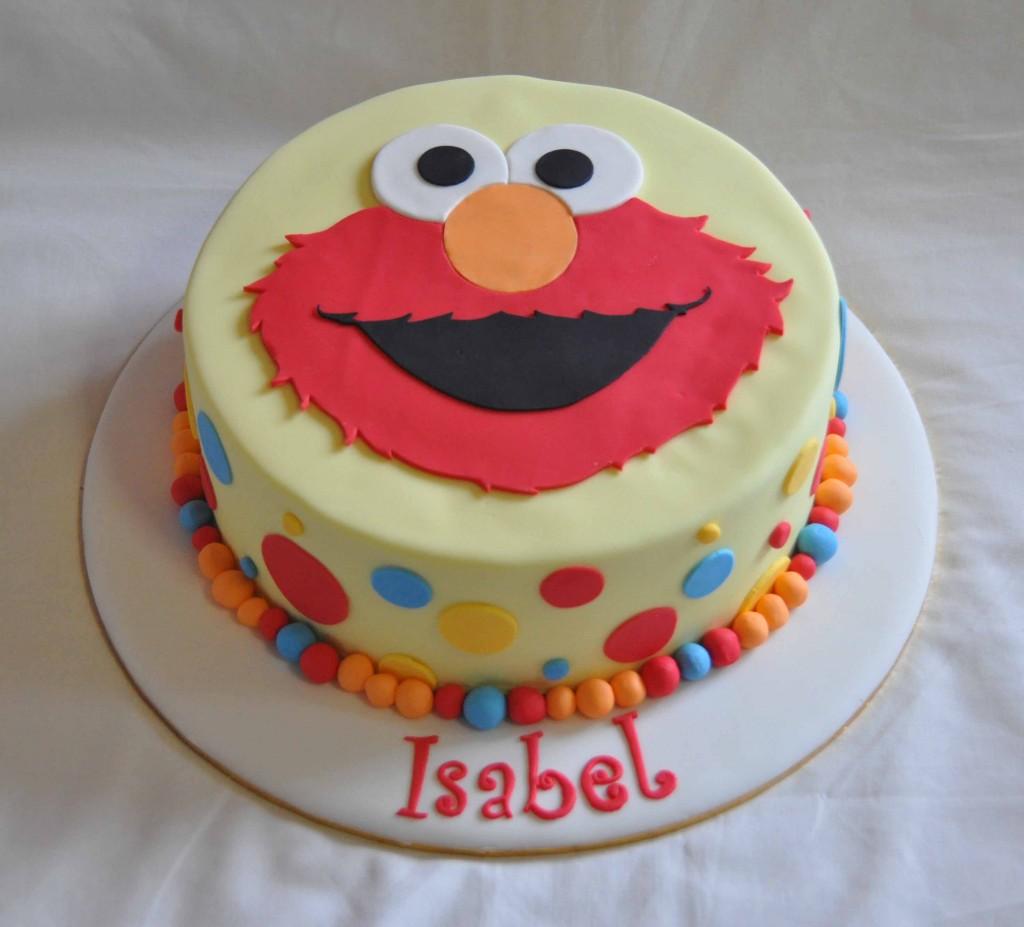 Elmo Cake Images