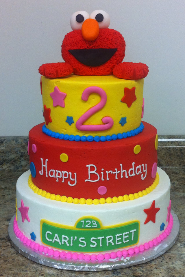 Elmo Edible Cake Images