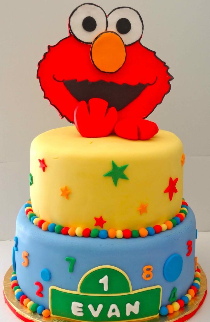 Elmo Face Cake Pan