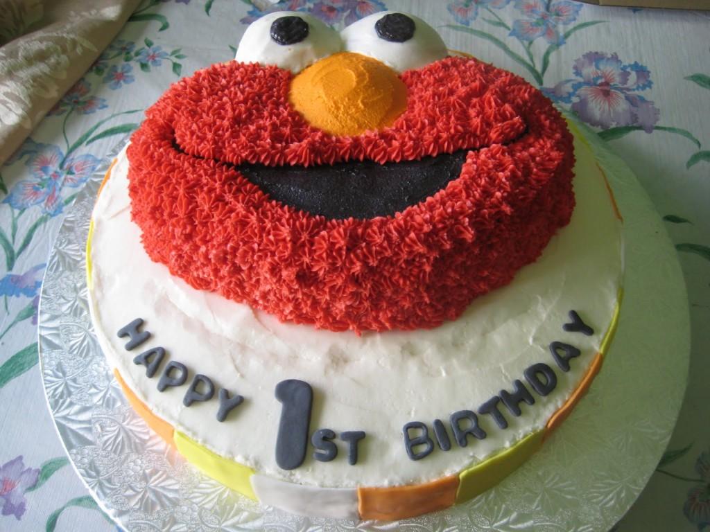 Elmo First Birthday Cakes