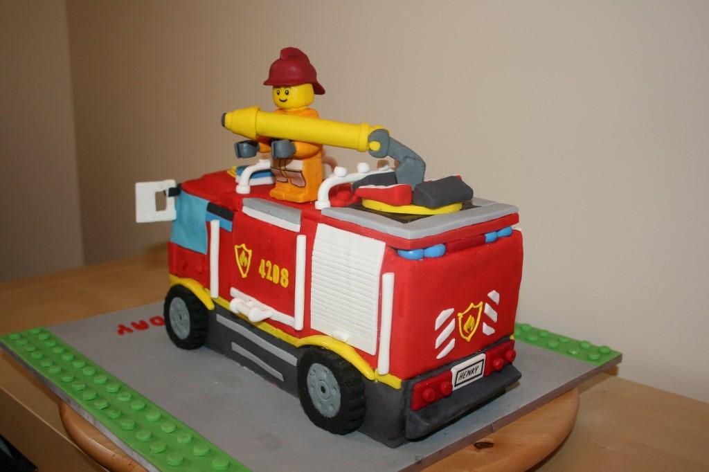 Fire Truck Birthday Cake Photos