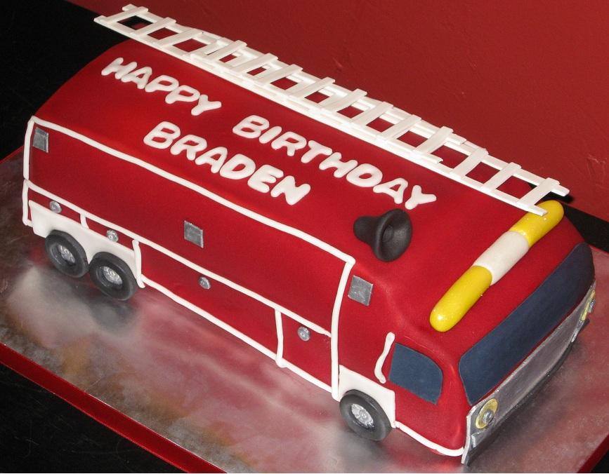 Fire Truck Cake Ideas