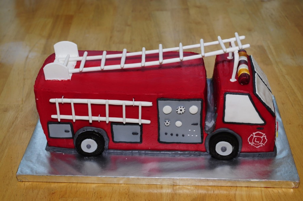 Fire Truck Cakes Images