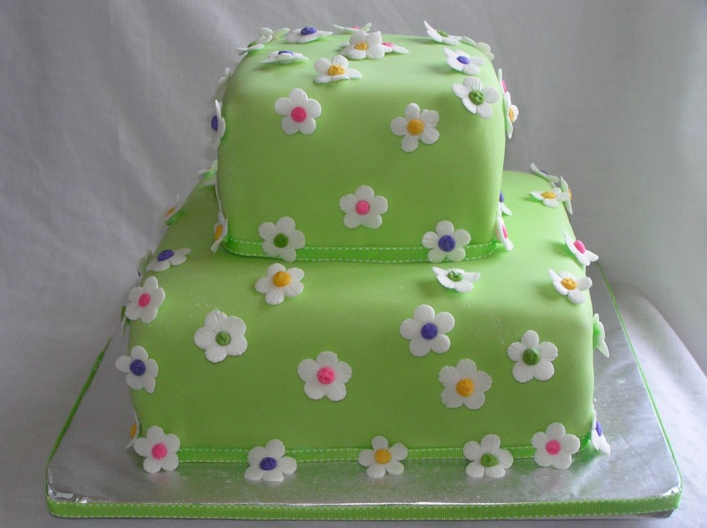 Flower Birthday Cake Images