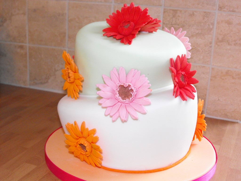Flowers Birthday Cake