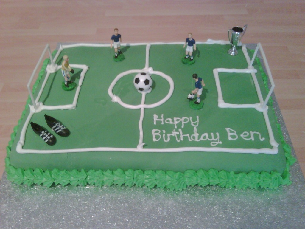 Football Field Cake Ideas