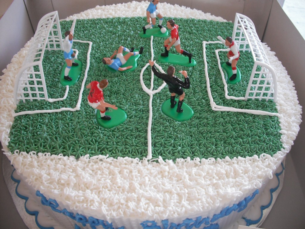 Football Field Cake Pictures