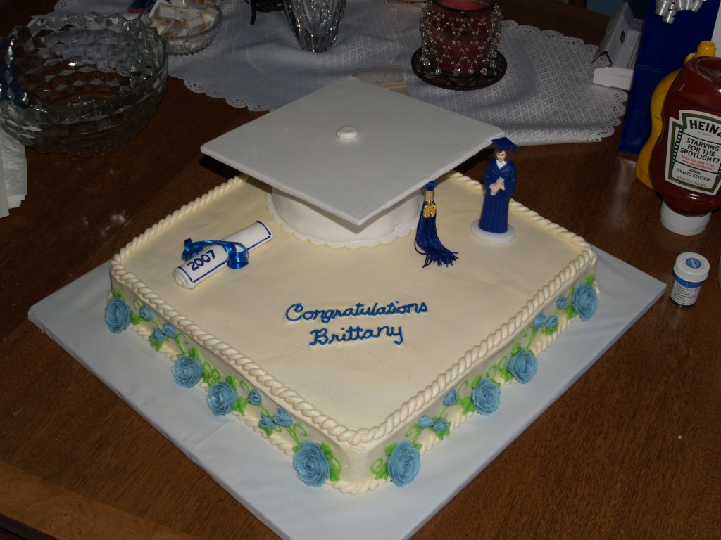 Graduation Cake Decorating Ideas