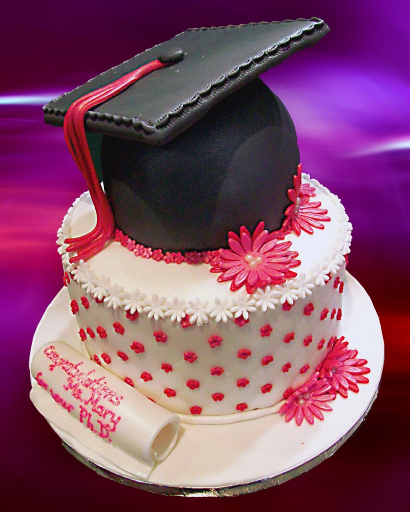 Graduation Cake Decorations