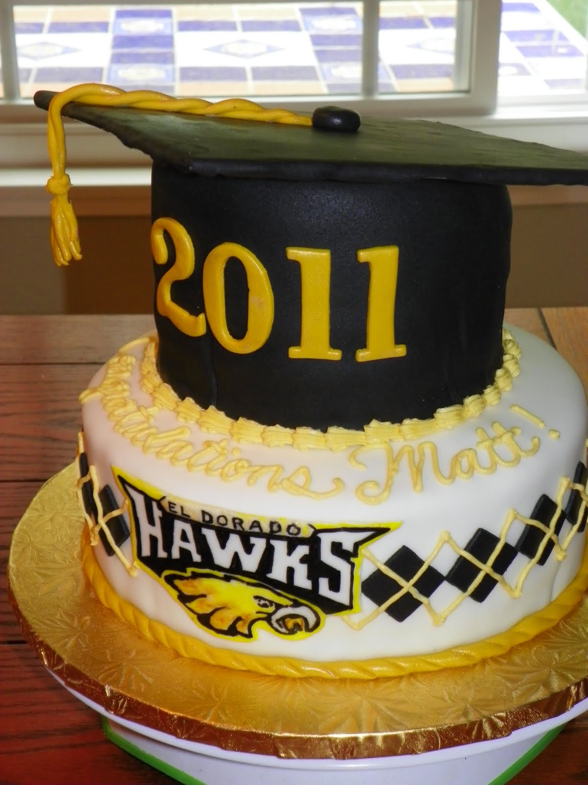 Decorated Cakes For Graduation