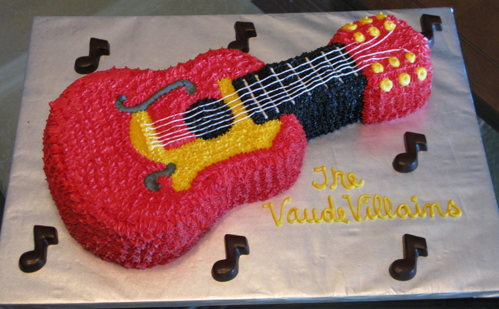 Guitar Birthday Cake Pictures