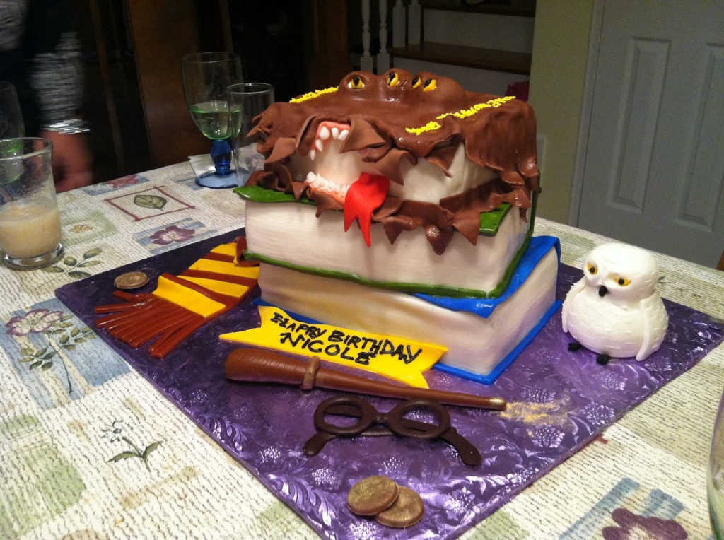 Harry Potter Cake Decorations
