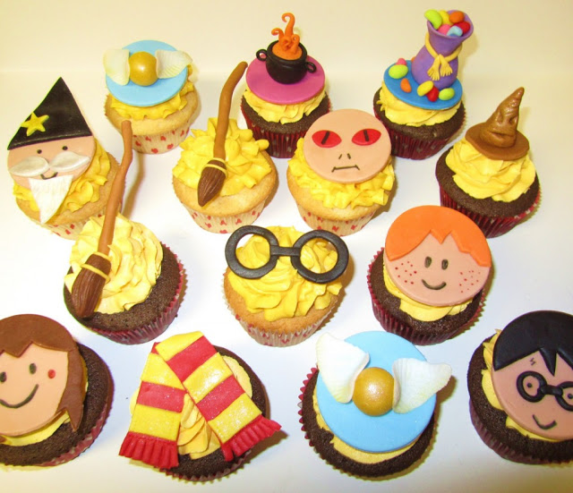 Harry Potter Cup Cake