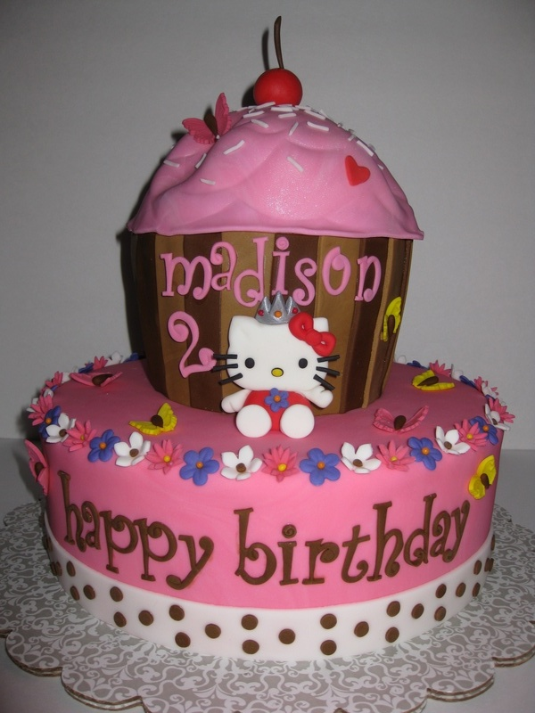 Phenomenal Hello Kitty Cakes Decoration Ideas Little Birthday Cakes Personalised Birthday Cards Cominlily Jamesorg