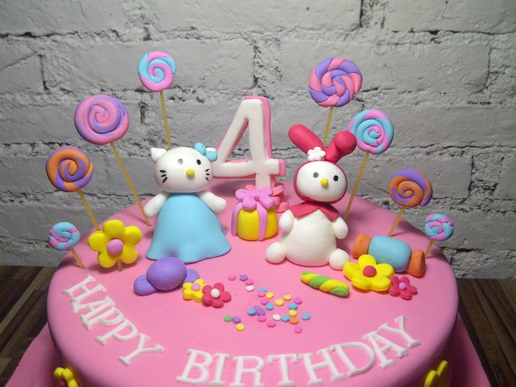 Terrific Here Is A Collection Of Hello Kitty Cakes That You Will Absolutely Personalised Birthday Cards Cominlily Jamesorg