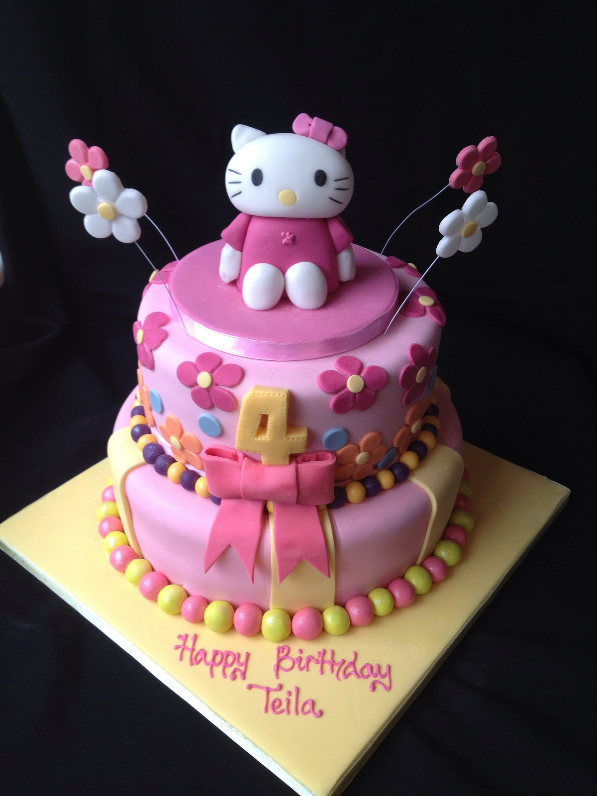 hello kitty birthday cake hello kitty cakes decoration ideas birthday cakes 4780